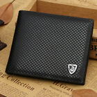 Cool Men Leather Wallet Bifold Credit Card Holder Brand Purse Money Clip Wallets