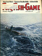 Fur-Fish-Game magazine--Sept. 1987-----493