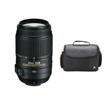 Nikon AF-S 55-300mm f/4.5-5.6G VR + Medium SLR Case for D5500 D5300 D5200 D