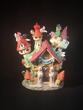 "Halloween Haunted House ""Magic Castel"" Castle 6"" Tall GUC (#1604)"