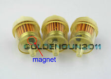 "3x Honda ATV Motorcycle Inline GAS Carburetor Fuel Filter 1/4"" 6mm-7mm ENGINE Z3"