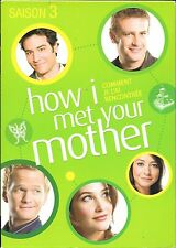 COFFRET 3 DVD ZONE 2--SERIE TV--HOW I MET YOUR MOTHER - INTEGRALE SAISON 3