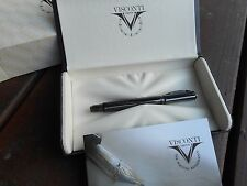 VISCONTI METROPOLIS GUNMETAL SAFETY ROLLERBALL PEN SALE