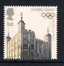 GB mint stamp - London 2012 Olympic Games stamp,  Tower of London, MNH