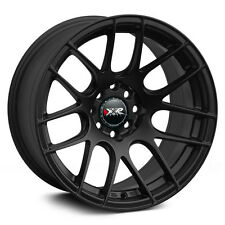 17X7 XXR 530 WHEELS 5X100/114.3 +35MM FLAT BLACK RIM FITS TOYOTA CAMRY 02-2012