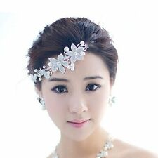 Crystal Beauty Flower Wedding Headband Fashion Women Hair Accessories Clips New