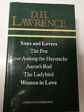 D.H. Lawrence Omnibus Sons and Lovers / The Fox / Love Among the Haystacks, etc