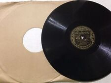 "AL JOLSON 10"" 78 RPM Record. AFTER YOU'VE GONE **Free UK Postage**"