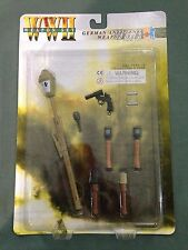 "Dragon 1/6 Scale 12"" German Soldiers WWII Anti-Tank Weapon Set A 71033 LOOSE"