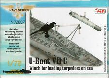 CMK 1:72 U-Boat VII C Winch for Loading Torpedos on Sea Resin Kit #N72007