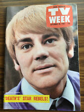 TV Week Mag Sep 1967. Anthony Booth, Coronation Street, Homicide