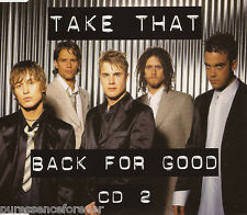 TAKE THAT - Back For Good (UK 4 Track CD Single Pt 2)