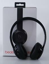 Beats Solo 3 Wireless Black Bluetooth On-Ear Headphones Microphone Fast Fuel