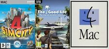 SIM CITY 4 Deluxe & GOOD LIFE L'Isola Tropicale Simulazione per Mac