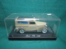 DV6439 SOLIDO FORD V8 1936 PROMOTIONNEL AUTOMOBILE MINIATURE PUB 1/43 NB