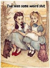 Dorothy and Alice # 10 - 8 x 10 Tee Shirt Iron On Transfer