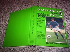 ALMANACCO ILLUSTRATO DEL CALCIO 1986 PANINI QUASI PERFETTO