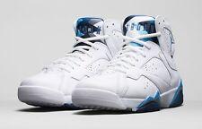 New 2015 Nike AIR JORDAN VII 7 Retro French Blue Basketball Sneakers Mens 10.5
