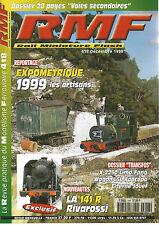 RMF N° 418 EXPOMETRIQUE 1999 LES ARTISANS/TRANSFOS/141 R RIVAROSSI /WAGON L5L