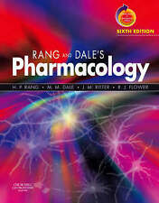 Pharmacology 6th Edition,H.P. Rang ,M,M. Dale,J.M. Ritter,R.J. Flower.Paperback