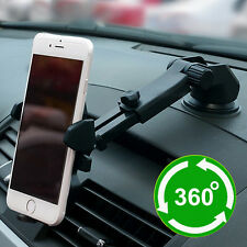 Car Holder 360 Degree Mount Rotation For iPhone 6 6S Plus Galaxy S5 Note 4