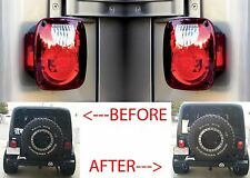 Rampage Jeep 5307 Taillight Conversion Kit Upgrade For 1976-2006 Jeep Wrangler