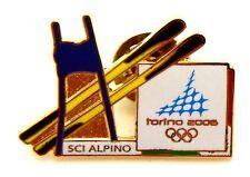 Pin Spilla Olimpiadi Torino 2006 Attrezz. Sportive - Sci Alpino 2