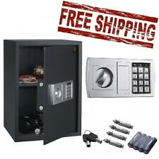 Home Safe Box Digital Security Lock Electronic Keypad Gun Cash Jewelry Hotel New