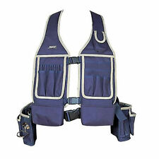 Electrician Carpenter Framer Plumber Craftman Construction Pouch Bag Tool Vest L