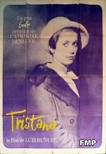 TRISTANA - DENEUVE / BUNUEL - ORIGINAL LARGE FRENCH MOVIE POSTER