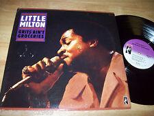 """NEAR MINT Little Milton STAX 12"""" LP MPS-8529 Grits Ain't Groceries LIVE 1972 LA"""