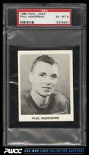 1965 Coca-Cola Hockey Paul Henderson ROOKIE RC, PERFORATED PSA 6 EXMT (PWCC)