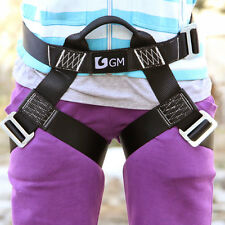 Outdoor Harness Seat Belts Sitting Bust Belts for Rappelling S for Rock Climbing
