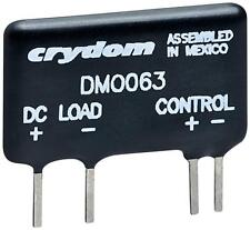(30 PCS LOT) CRYDOM DMO063, SOLID STATE RELAY SSR 3A 60VDC SPST-NO SIP