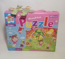 Childrens Kids 48 Piece Jigsaw Puzzle Bluebell Park