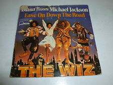 "DIANA ROSS & MICHAEL JACKSON - Ease On Down The Road - 1978 UK 7"" vinyl single"