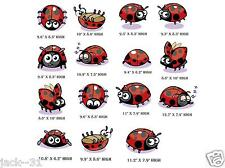 Wall sticker 15 ladybug KID NURSERY DAYCARE coccinelle