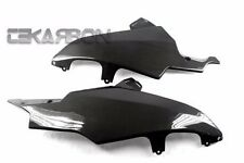 2008 - 2010 Suzuki GSXR 600 / 750 Carbon Fiber Lower Side Fairings - 1x1 plain