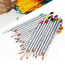 24 Color Marco Fine Art Drawing Non-Toxic Pencils Set For Sketch NEW