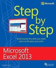 Step by Step: Microsoft® Excel 2013 by Curtis D. Frye (2014, Paperback, New...