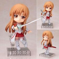 Neuf Sword Art Online SAO Cu-poche Yuuki Asuna Action Figure Figurine 11cm NoBox