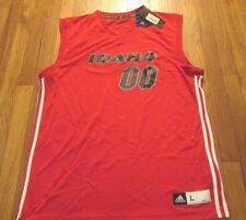 ADIDAS NBDL IDAHO STAMPEDE RED BASKETBALL JERSEY SIZE L