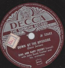 Bing Crosby und  sein Sohn Gary Crosby : Down by the Riverside +What a little