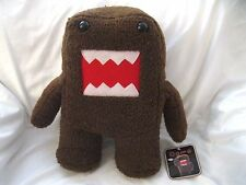 "Licensed Japanese Domo-Kun 14"" Soft Brown Plush Doll-Brand New with Tags!!"