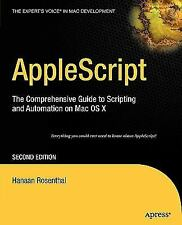 AppleScript  2nd Edition Hanaan 2006 Rosenthal Apress Mac OS X