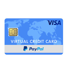 Visa Virtual Card (VCC) for PayPal Verification