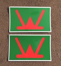 2X MILITARY ARMY LAND ROVER 160 Infantry Brigade  WOLF WMIK DEFENDER DECALS
