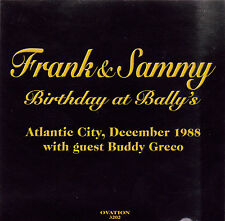 Frank Sinatra and Sammy Davis Jr. Birthday At Bally's- Live, December, 1988