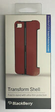 New OEM Genuine Z10 Blackberry Transform Shell Carrying Cover Case Retail - Red