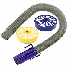 Purple Stretch Hoover Hose & Pre / Post Filter Kit for DYSON DC07 Vacuum Cleaner